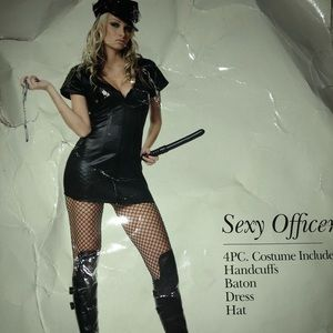 Other - Female officer Halloween costume